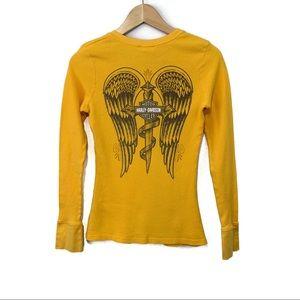 Harley Davidson Las Vegas Wings Thermal Shirt